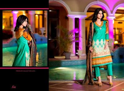 ZebAisha Premium 2015 By Al-Zohaib Textile