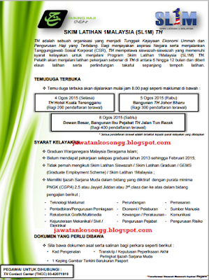 Open Interview Sl1m Tabung Haji
