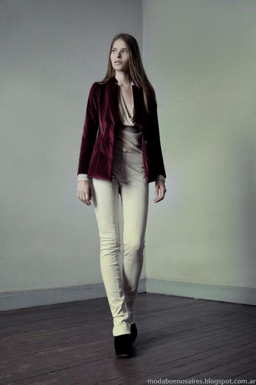 Sacos invierno 2013 Daniela Sartori moda.