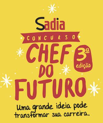 Participar promoção Chef do Futuro 2015