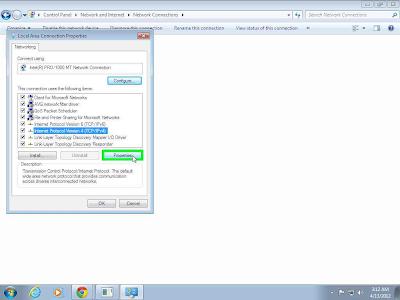 Change IP Address of Lan