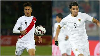 Perú vs Bolivia en Cuartos de Final Copa América Chile 2015