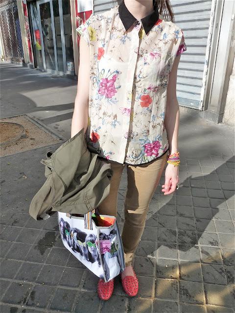 OOTD Blog Mode Fashion Fashionblog Blogmode Style Streetstyle Pimkie  Slippers Méliné Bracelets Hipanema Bague Crezus Ducreateur