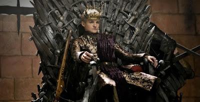 Joffrey en el trono de hierro - Juego de tronos en los siete reinos