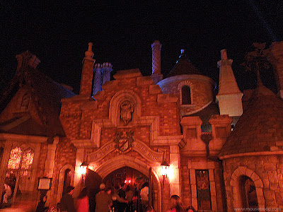 Mr. Toad's Wild Ride Disneyland dark ride exterior Toad Hall