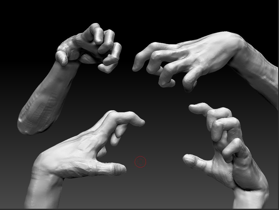 The Artblog of Chi Wong hand sculpt
