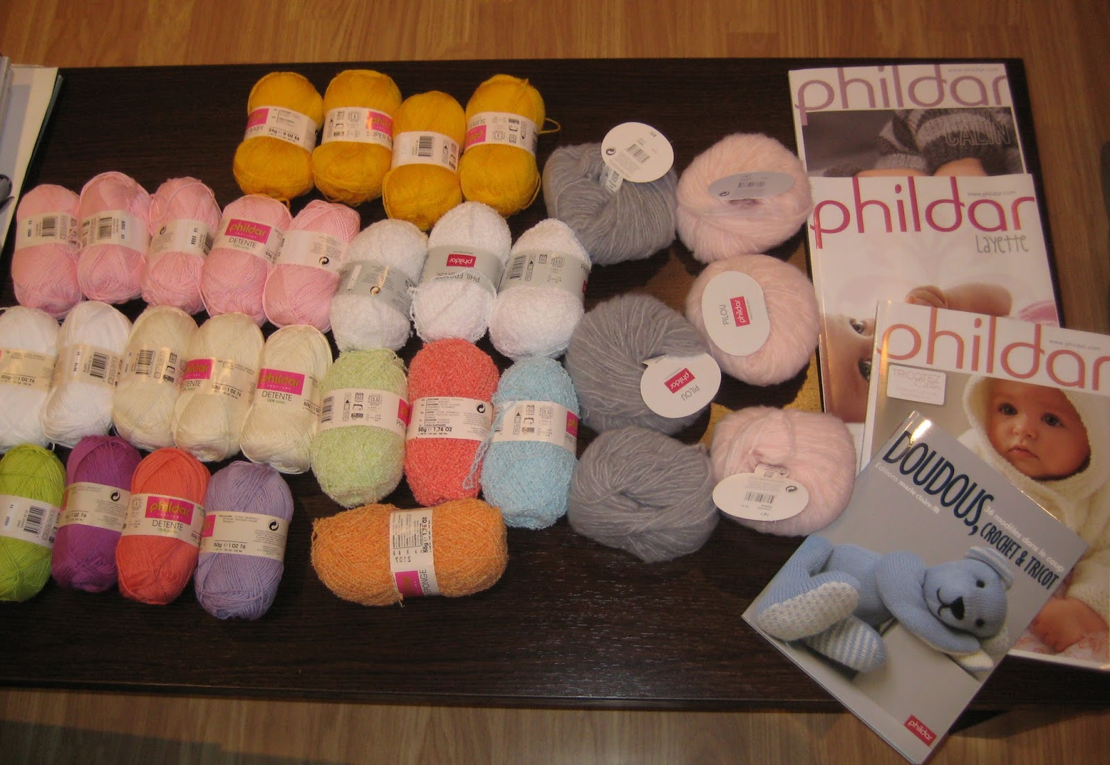 mis nancys, mis peques y yo, lanas y revistas Phildar