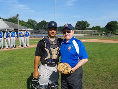 Middletown Catcher John Cain & Dept Commander Ken Governor