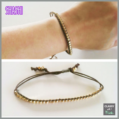 Classy with a Kick: Shashi New Nugget Bracelet