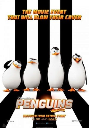 Film Penguins of Madagascar 2014 di Bioskop