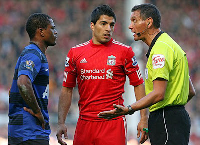 Evra reveals racist allegations made Suarez