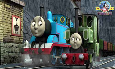 2012 file Blue mountain mystery Thomas the train and Luke the tank engine fact finding expedition