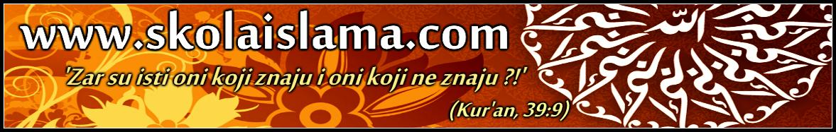 ŠKOLA ISLAMA - NAUČI ISLAM