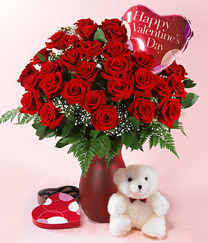 valentine day flowers