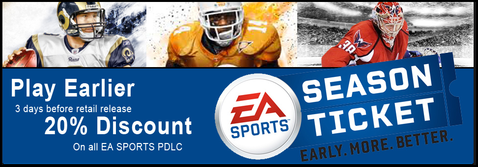 EA Sports Season Ticket Pass Code Generator