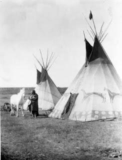 Blackfoot Tipis Edward S Curtis