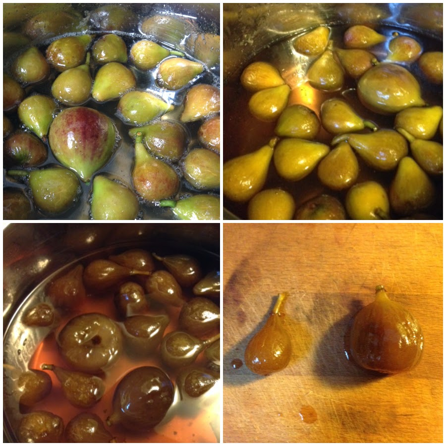 how to cook figs so they dry