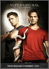 Capa Baixar Série Supernatural 8ª Temporada Dublado   Bluray   Torrent Baixaki Download