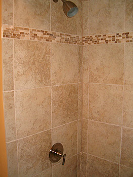 "Bathroom Tiles Vertical Border creative juice: ""what were they thinking thursday??!!"" - shower"