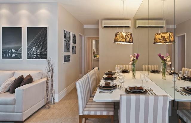 Como decorar sala estreita e comprida casa pro for Como decorar una apartamento pequeno