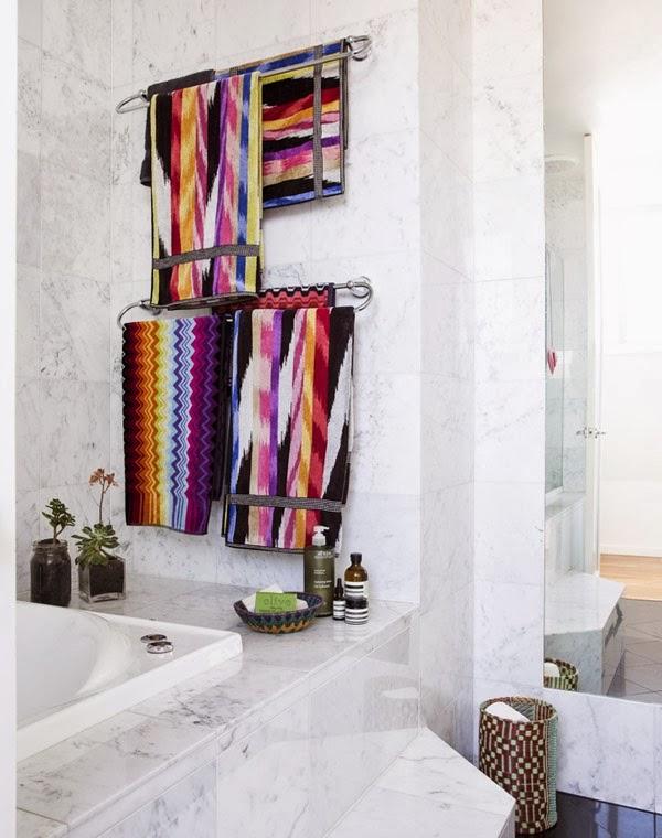 missoni bath towels small and large colorful missoni bath