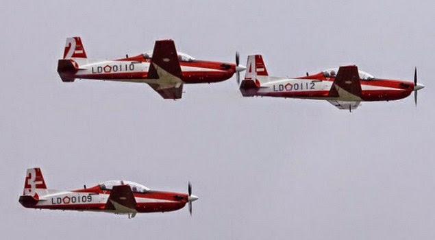 Pesawat Aerobatik Jupiter TNI AU