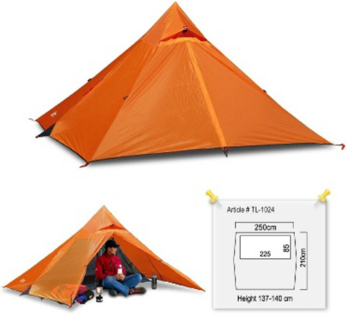 Tenda LUXE Outdoor Mini Peak 2
