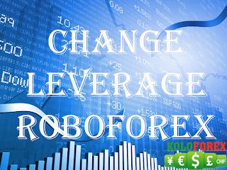 Hướng dẫn thay đổi đòn bẩy trong tài khoản RoboForex