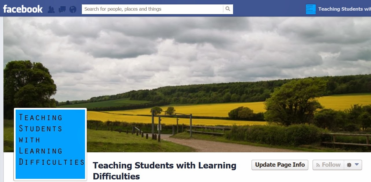 https://www.facebook.com/studentswithlearningdifficulties#