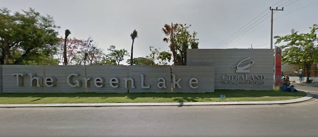 perumahan the green lake citraland surabaya