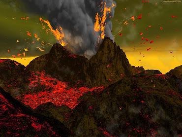 #9 Volcano Wallpaper