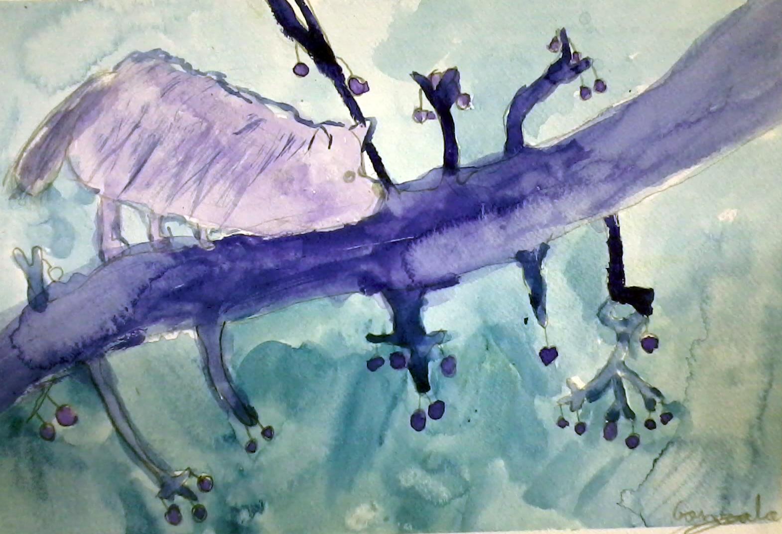 Peque os artistas taller infantil y juvenil de dibujo y - Paisaje con colores calidos ...
