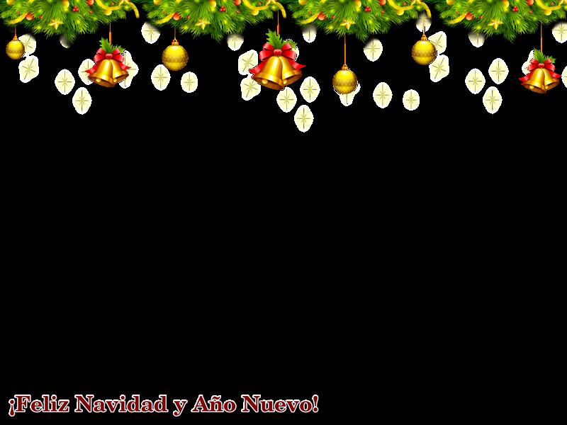 Marco para la navidad - Marcos en psd y png para descargar gratis.