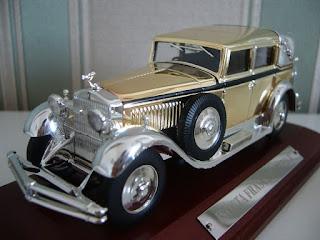 coche a escala 1/43 de un Isotta Fraschini Tipo 8
