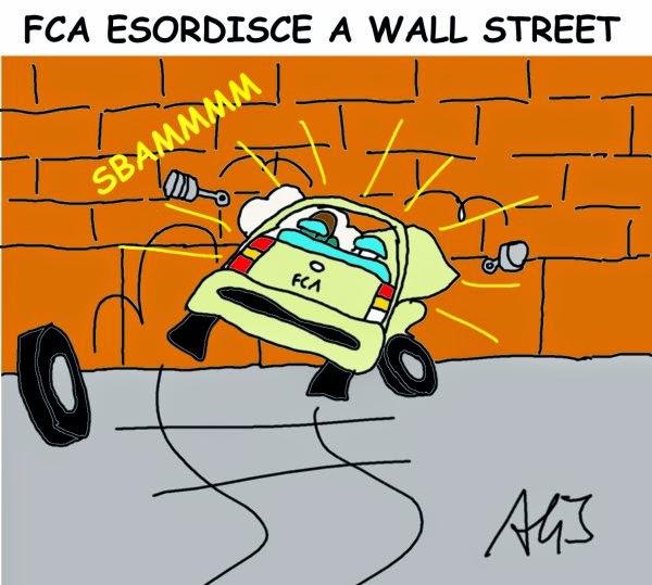 FCA, Fiat, Wall street