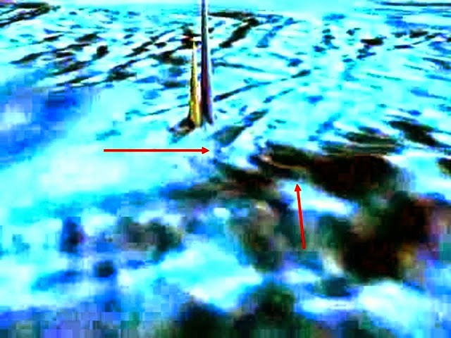 Underwater Obelisks Discovered Exact Opposite Great Pyramid