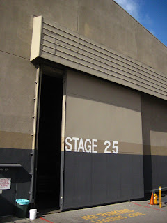 Stage 25, the sound stage for CSI: Las Vegas.