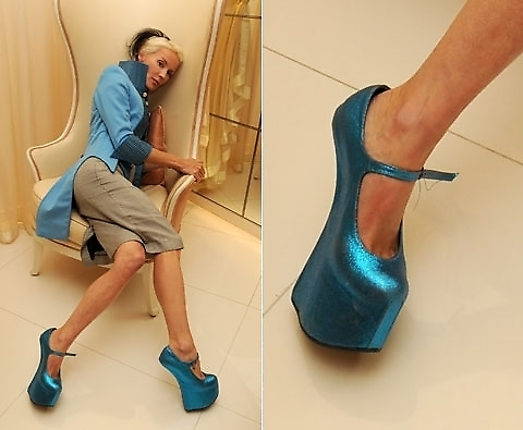 daphne guinness shoes. Daphne in Natacha Marro shoes