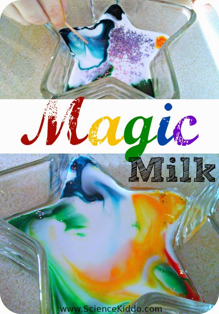 Magic Milk | Colorful Process Art and Science for Kids