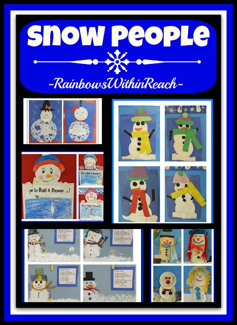 photo of: Snow People in OODLES of variations at RainbowsWithinReach