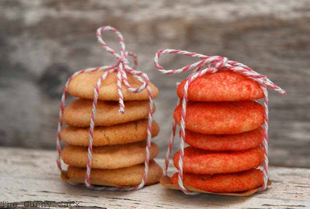 Cookie Stack Tied With Baker's Twine