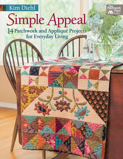 Henry glass fabrics kim diehl simple appeal review and for Patchwork quilt book