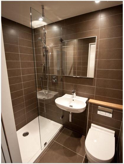 Diseño de cuarto de baño pequeños y medianos con ideas, fotos y ...