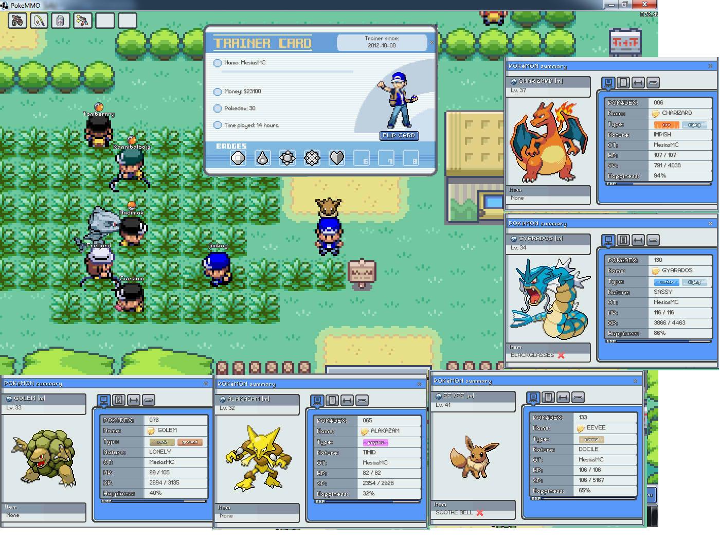 Pokemon Online | PokeMMO Gratis | Soy Otaku - Noticias sobre anime ...: www.soyotaku.com/2012/10/pokemon-online-pokemmo-gratis.html