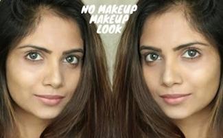 """""""No Makeup"""" Makeup Look Tutorial For Beginners"""