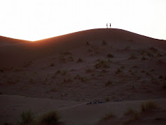 Atop the dune...