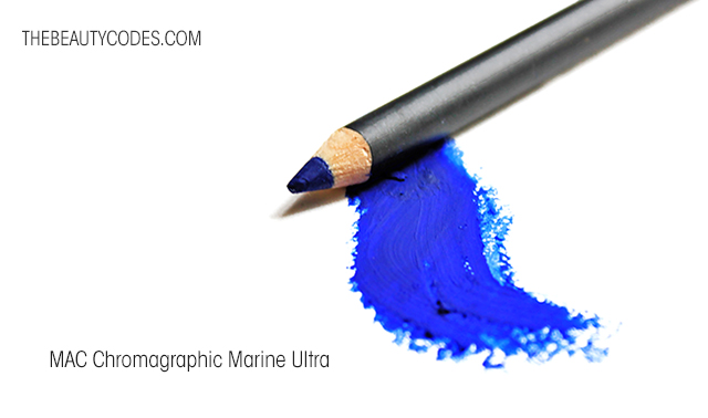 MAC Chromapgraphic Marine Ultra Pencil Swatches