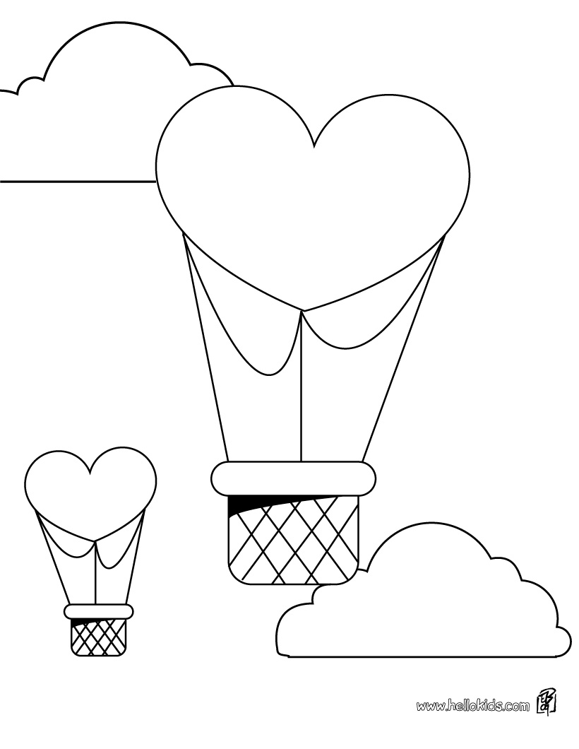 coloring pages balloon boy alltoys for