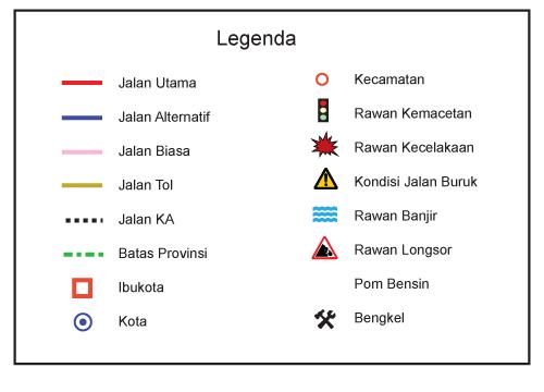 Grid Peta Garis Lintang Dan