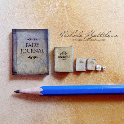 Miniature Fairy Journals - Nichola Battilana